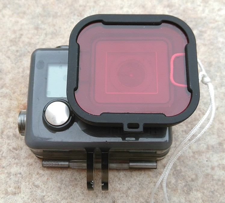 GoPro HERO+ LCD with red filter