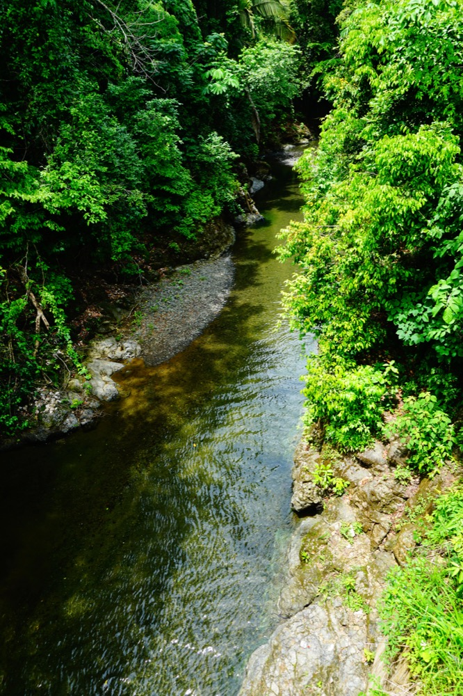 Rio Claro (clear river) of Pavones